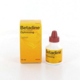 Betadine oplossing lotion