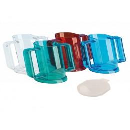 Handycup drinkbeker met deksel