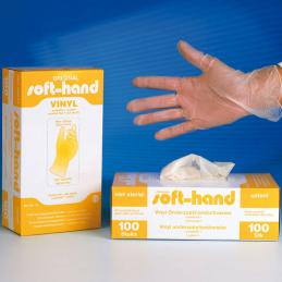 Vinyl soft handschoenen 100...