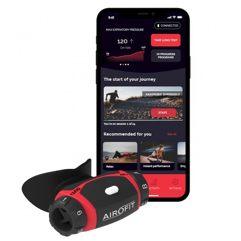 Airofit PRO Ademhalingstrainer