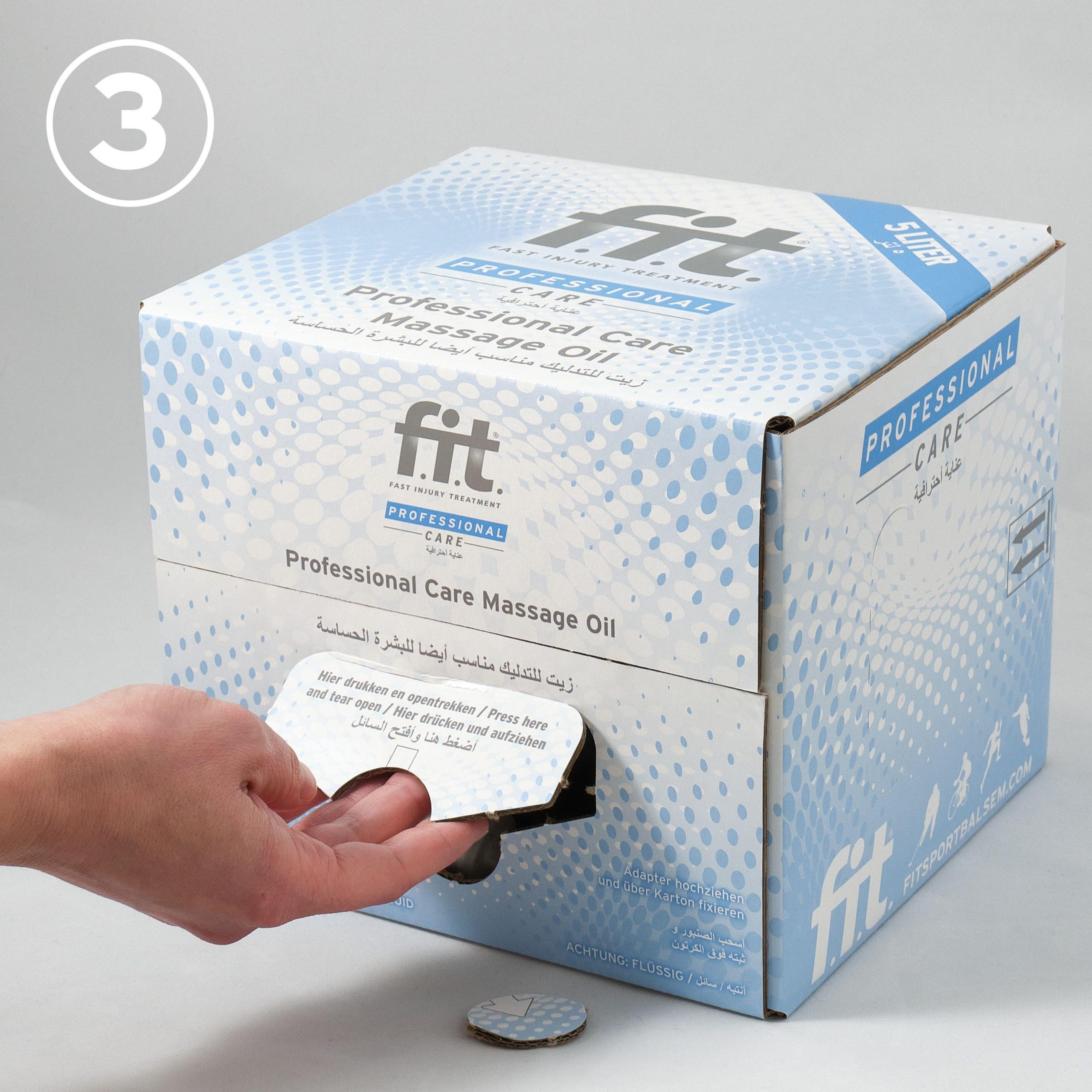 FIT Massageolie 5 liter gebruiksaanwijzing 3