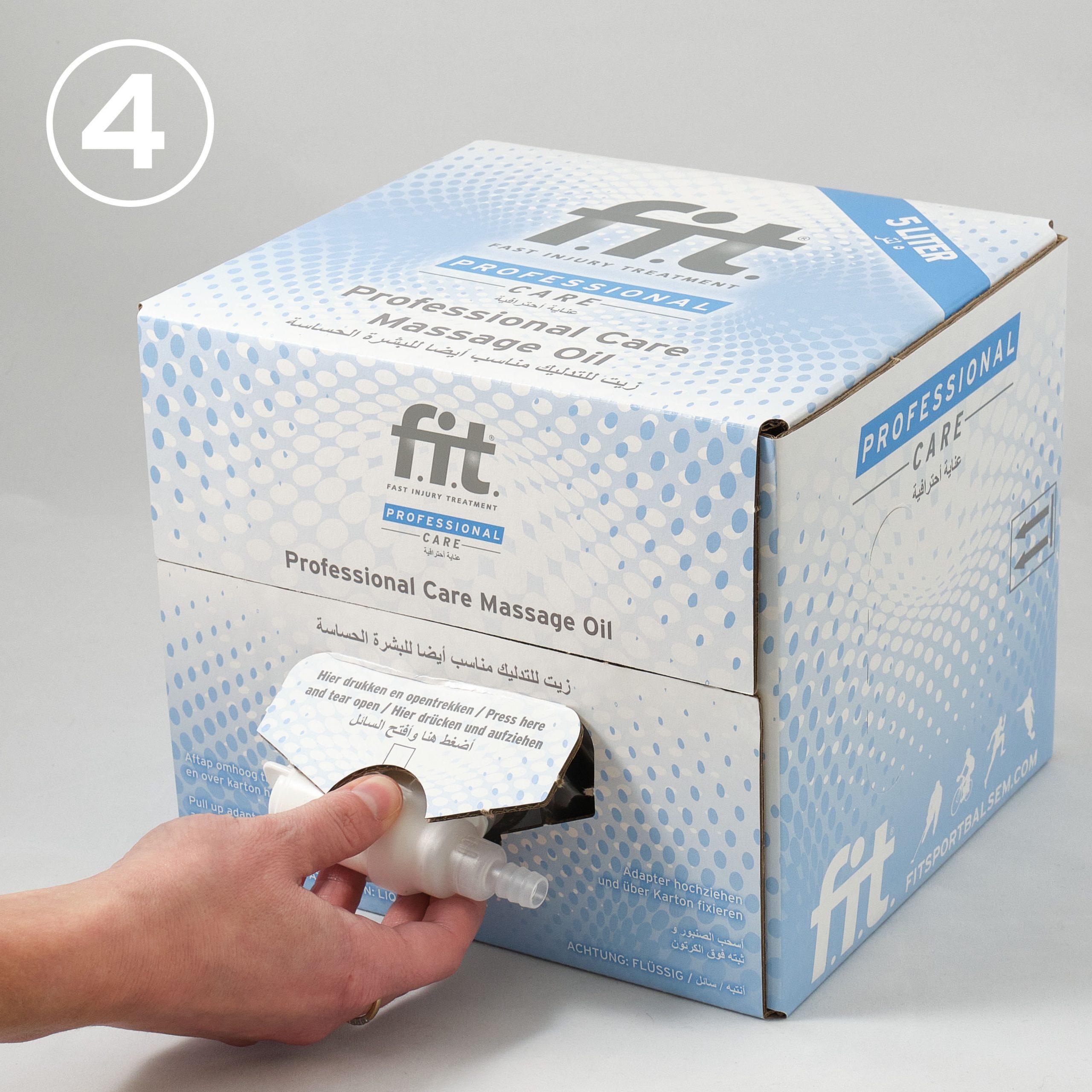 FIT Massageolie 5 liter gebruiksaanwijzing 4