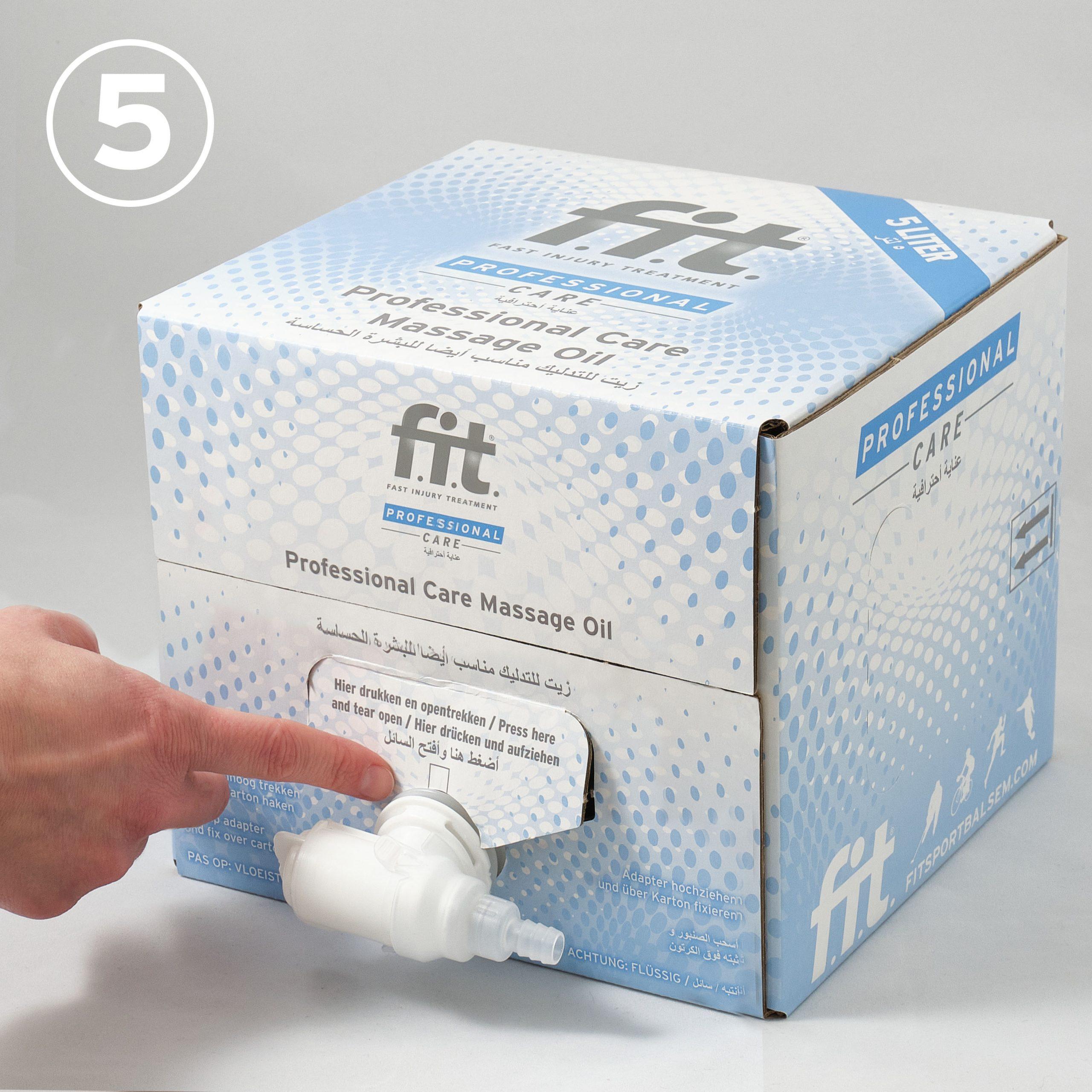 FIT Massageolie 5 liter gebruiksaanwijzing 5