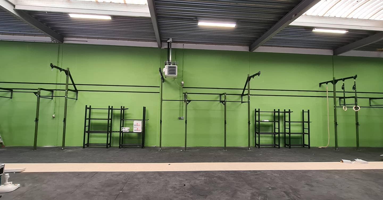 GorillaGrip praktijkvoorbeeld uitgebreide workout rig