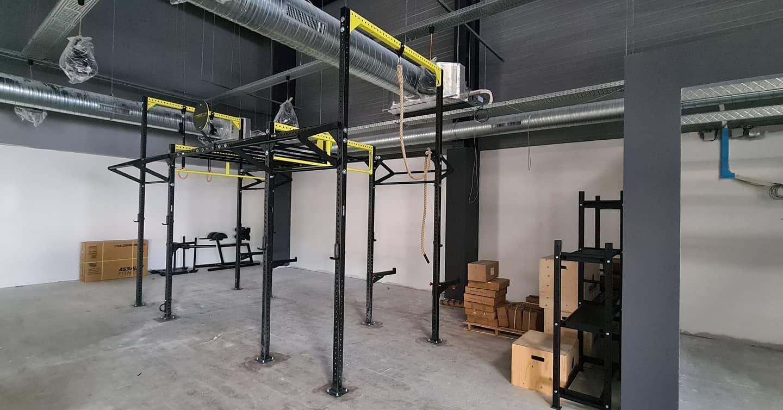 Praktijkvoorbeeld workout rig GorillaGrip