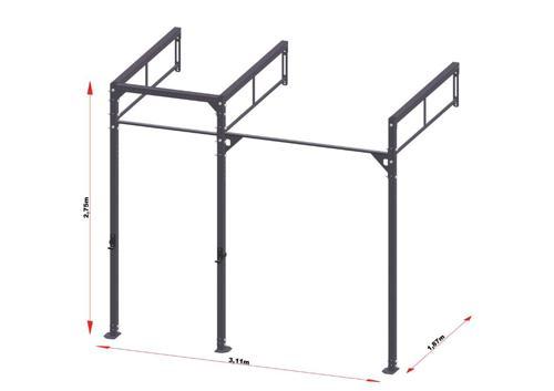 GorillaGrip standaard workout rig